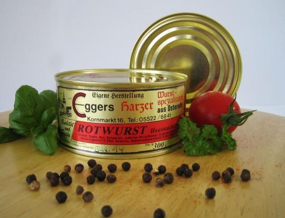 Rotwurst (Hausmacher Art)